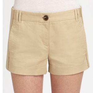 Tory Burch Khaki Ollie khaki dress shorts